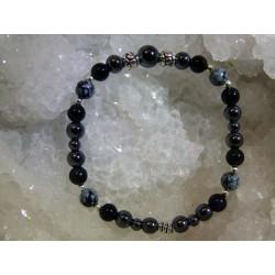 Bracelet Obsidienne - 01