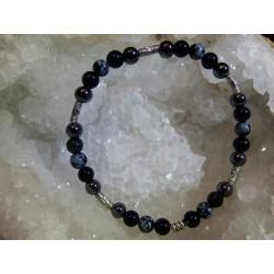 Bracelet Obsidienne - 03