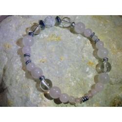 Bracelet Quartz Rose - 02