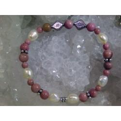 Bracelet Rhodonite - 01