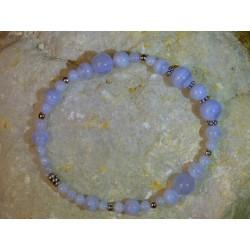 Bracelet Calcédoine - 01
