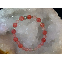 Bracelet Quartz Rose - 07