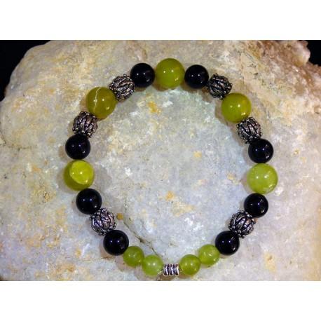 Bracelet Jade Serpentine - 01