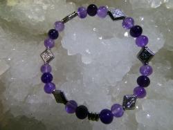 Bracelet Améthyste - 04