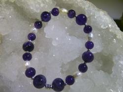 Bracelet Améthyste - 06