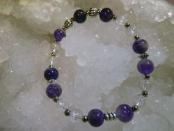 Bracelet Améthyste - 07