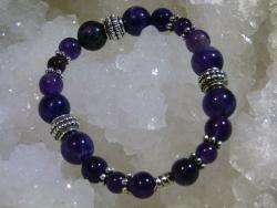 Bracelet Améthyste - 08