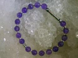 Bracelet Améthyste - 09